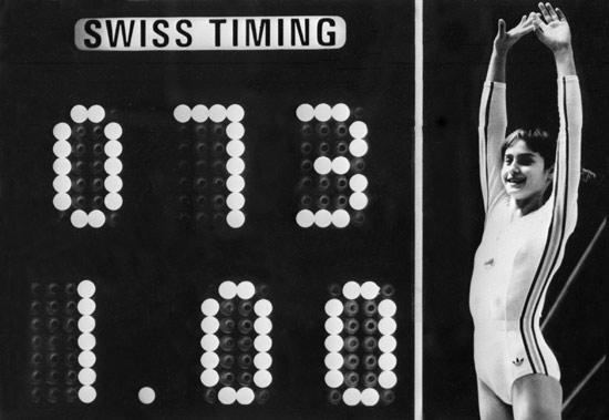 奥运历史巨星之体操女皇科马内奇--完美的10分