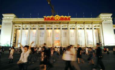 بكين مستعدة وهادئة في اليوم العاشر للعد التنازلي