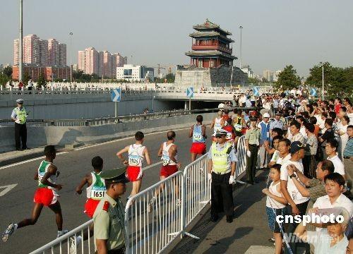 马拉松首次采用无线计时记分 创下奥运历史纪录