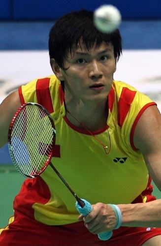 图文-中国羽毛球队进行赛前训练 鲍春来是夺金大热