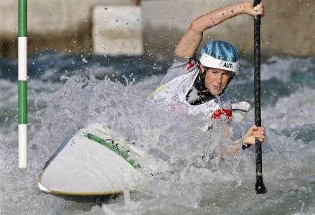 图文-皮划艇激流回旋精彩回顾 彼得斯获得第三名