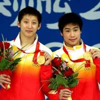 跳水双人10米台决赛林跃/火亮摘中国队第七金