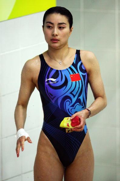 图文-女子双人3米跳板决赛 郭晶晶信心十足