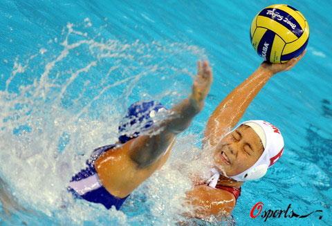 女子水球中国获第5