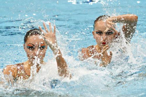 花样游泳自由自选预赛