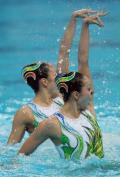 花样游泳女子双人决赛