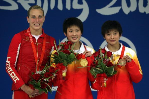 图文-奥运女子10米跳台决赛 陈若琳引领群芳