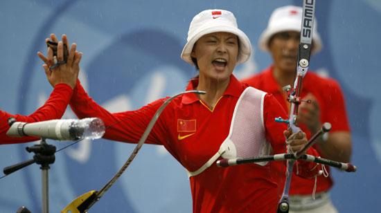 射箭-中国女团晋级决赛