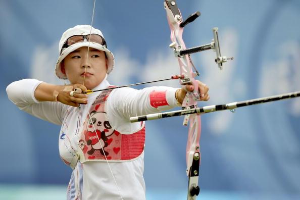 北京奥运会----------女子射箭-----张娟娟