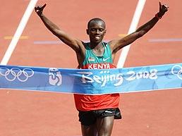 男子马拉松肯尼亚选手破奥运纪录夺冠邓海洋第25