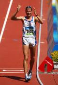 图文-田径男子20公里竞走决赛 意大利人喜极而泣