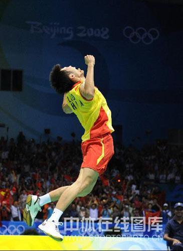 图文-[奥运]羽球男子单打决赛 此刻才是幸福