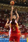 图文-中国女篮67-64西班牙 卞兰难防对手投篮