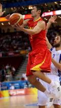 图文-中国男篮77-91希腊