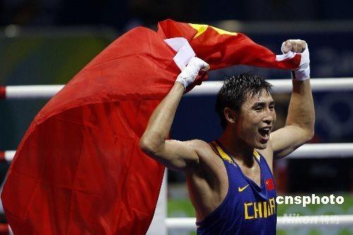 张小平再获一枚奥运金牌 为中国拳击改写历史