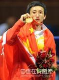 图文-邹市明获拳击48公斤级金牌 这金牌太不容易