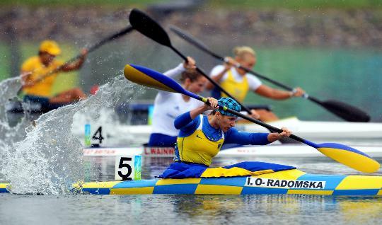 21日皮划艇半决赛