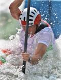 图文-皮划艇激流回旋精彩回顾 中国选手冯黎明