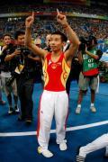图文-奥运会男子鞍马决赛 肖钦堪称鞍马第一人