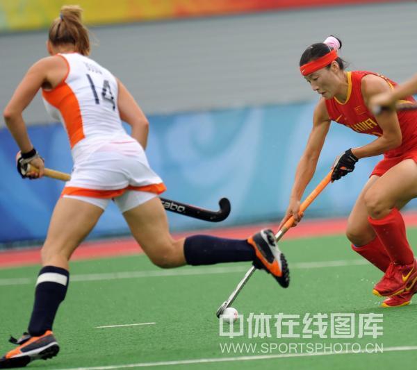 图文-女子曲棍球荷兰vs中国 小心对手已经上来了