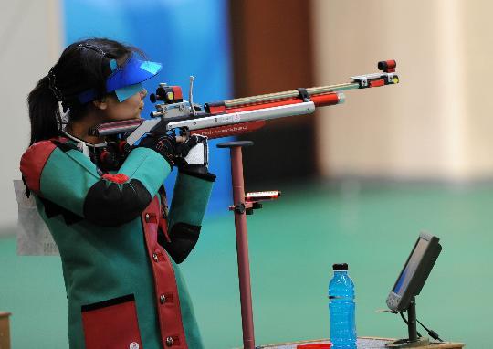 图文-杜丽获北京奥运会第五名