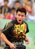图文-马琳夺乒乓球奥运男单金牌 王皓大吼一声