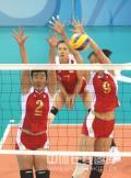 图文-中国女排3-0委内瑞拉 中国威猛双人拦网