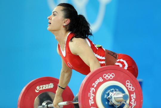 图文-女子举重48公斤级决赛 卫冕冠军就这样出局