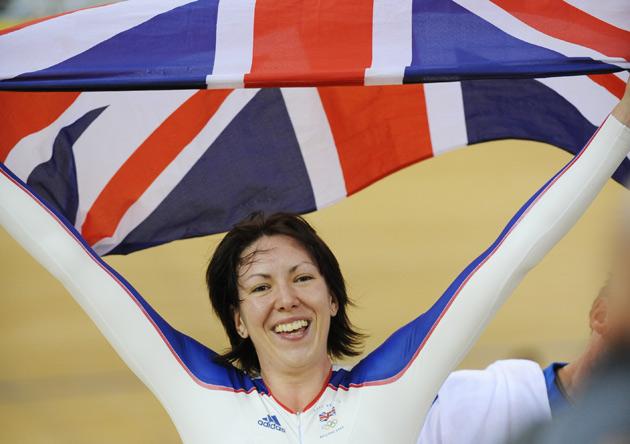 图文-女子自行车个人追逐赛 英选手罗梅罗夺得金牌
