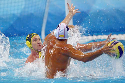 to catch Water-polo ball