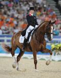 图文-马术盛装舞步精彩回顾 英俊马匹如同雕像