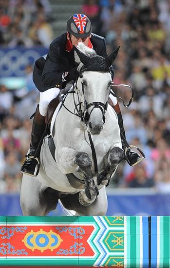 图文-马术障碍赛精彩回顾 骑术可谓精湛
