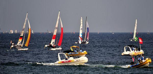 Navegación a vela en Qingdao: deporte atractivo, ciudad hermosa