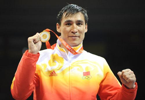 Boxeo: El chino Zhang Xiaoping, campeón olímpico en peso medio
