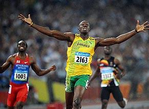 博尔特再破200米世界纪录
