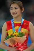 图文-奥运会蹦床项目精彩回顾 靓丽何雯娜
