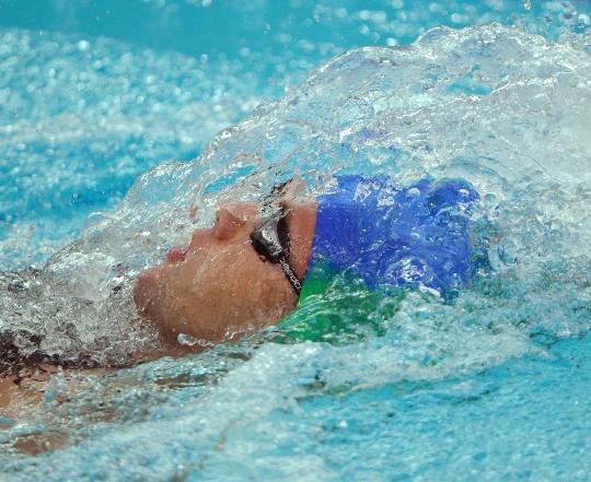 图文-男子400米个混合泳决赛赛况 向终点冲刺