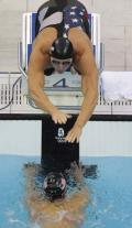 图文-男子4x100米混美国夺金 剩下的路交给你了