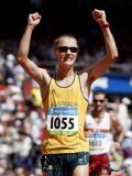 图文-北京奥运会男子20公里竞走 胜利属于我