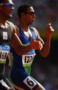 图文-奥运会男子400米预赛 步伐竟然如此整齐