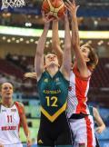 图文-澳大利亚83-64胜白俄罗斯