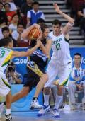 图文-北京奥运会男篮铜牌争夺战