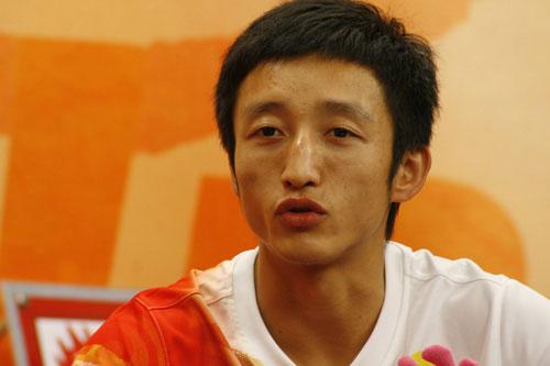 图文-邹市明做客新浪畅谈奥运 夺冠经历娓娓道来