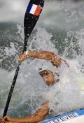 图文-男子单人皮艇决赛 勒菲弗的精彩表现