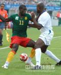 图文-喀麦隆国奥对阵洪都拉斯 憋足劲对脚