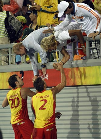男曲半决赛西班牙德国晋级