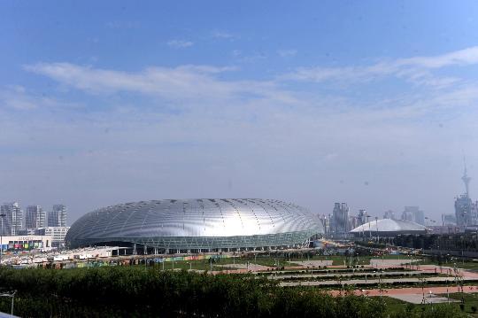 图文-来自6个协办城市的报告 天津奥体中心水滴球场
