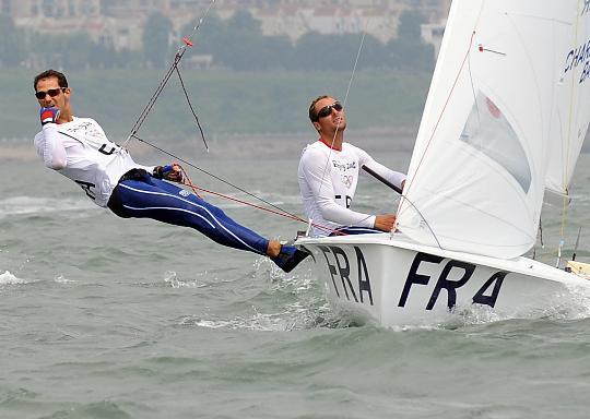 图文-男子双人艇470级澳大利亚夺冠 比赛很轻松
