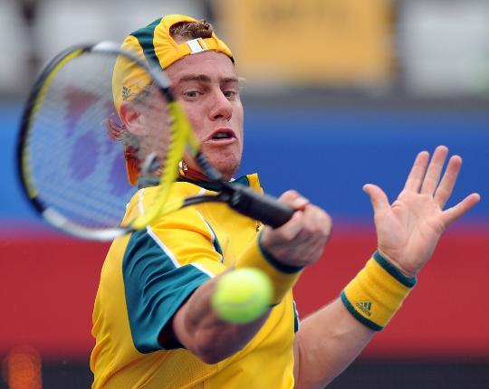 图文-奥运网球男单首轮11日赛况 这球简直太轻松了