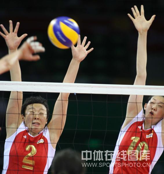 中国女排2-3美国